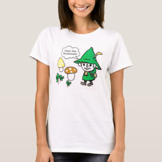 Camiseta olá! o cogumelo