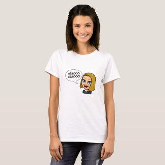 Camiseta Olá! olá!!
