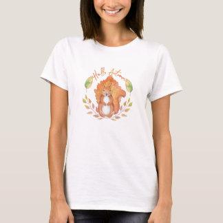 Camiseta Olá! outono