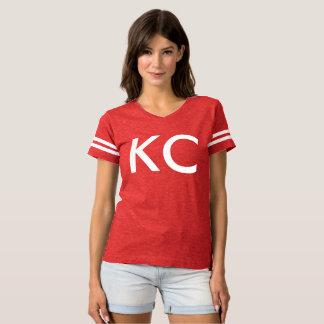 Camiseta Olá! T de futebol do KC