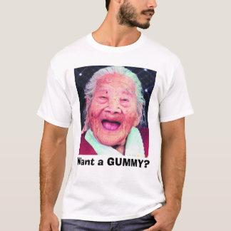 Camiseta old_lady, queira um GOMOSO?