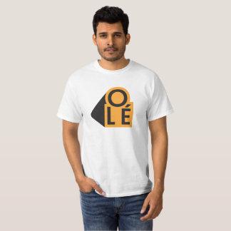 Camiseta Olé - laranja - 3d -