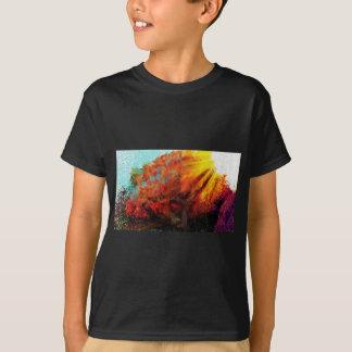 Camiseta Olhando a pintura do sol