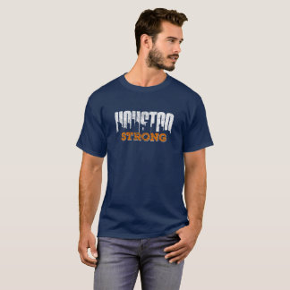 Camiseta Olhar afligido forte de Houston