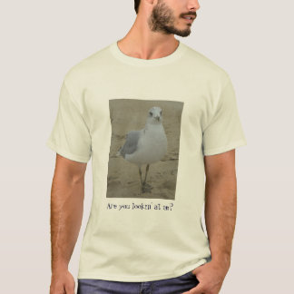 Camiseta Olhar fixo da gaivota