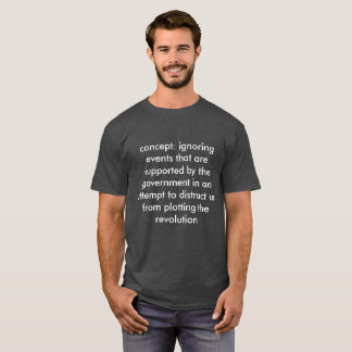 Camiseta olhar o superbowl é uma perda de tempo