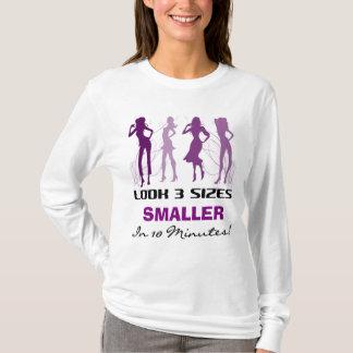 Camiseta Olhe 3 tamanhos menores - Hoodie
