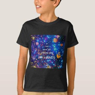 Camiseta Olhe acima e você vê que a maravilha nos cerca