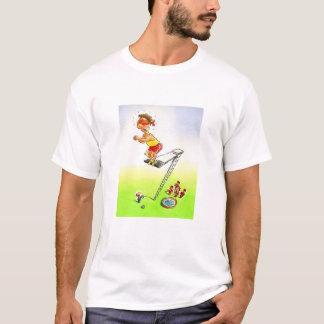 Camiseta Olhe antes que você pule!
