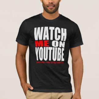 Camiseta Olhe-me em YouTube (moderno)