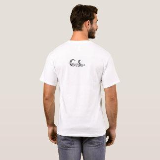Camiseta Olhe-me trabalhar o microfone do t-shirt