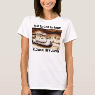 Camiseta Olhe o carro do bonde por favor