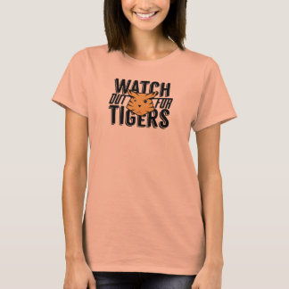 Camiseta Olhe para fora para tigres
