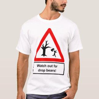 Camiseta Olhe para fora para ursos da gota