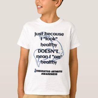 "Camiseta ""Olhe"" RA saudável/músculo…"