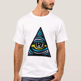 Camiseta Olho de Illuminati