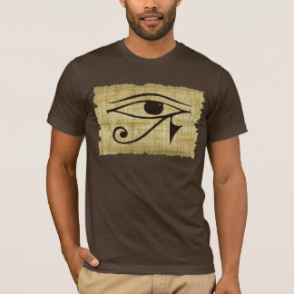 Camiseta OLHO de WADJET DE HORUS em séries do presente do