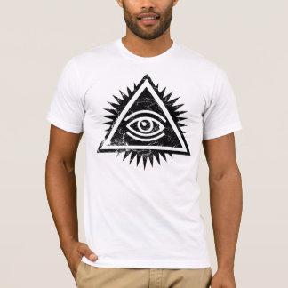 Camiseta Olho do logotipo do providência pelo CTRL+Z.