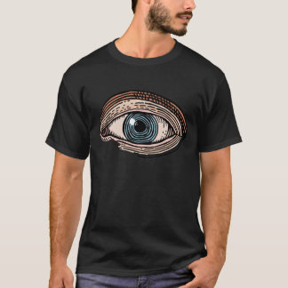 Camiseta Olho do providência (transparente)