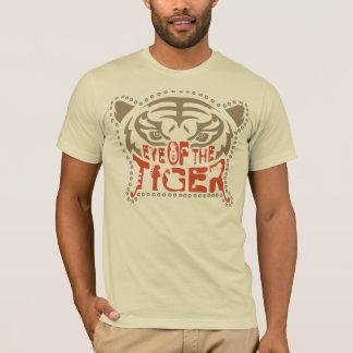 Camiseta Olho do t-shirt do tigre