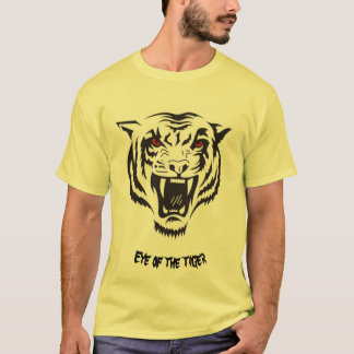 Camiseta Olho do t-shirt do tigre
