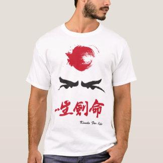 Camiseta Olhos do samurai da competição Fundraising do
