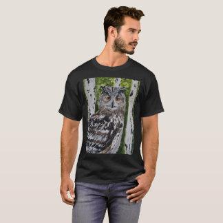 Camiseta Olli o T euro-asiático da coruja de Eagle