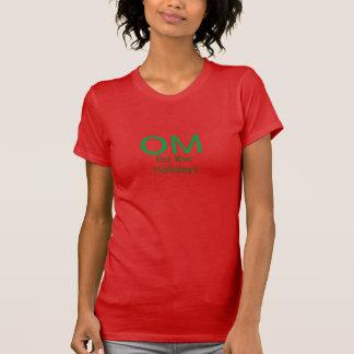 Camiseta OM para os feriados (t-shirt americano do roupa)