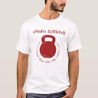 Camiseta Omaha Kettlebell no branco