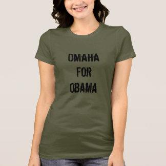 Camiseta Omaha para Obama