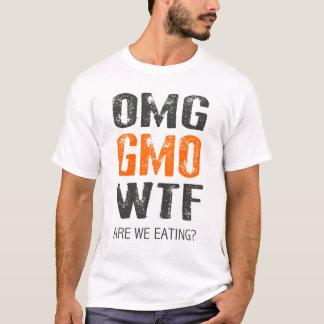 CAMISETA OMG GMO WTF?