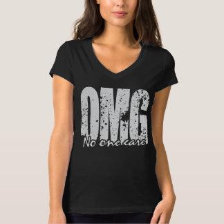 Camiseta OMG ninguém cuidado!