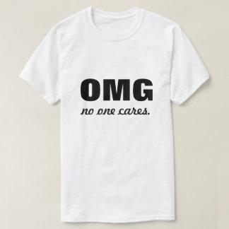 Camiseta OMG ninguém importa-se