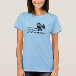 Camiseta on my listas II
