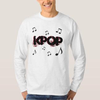 Camiseta Onda coreana dos ícones da música do K-Pop