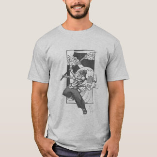 Camiseta Onda do samurai