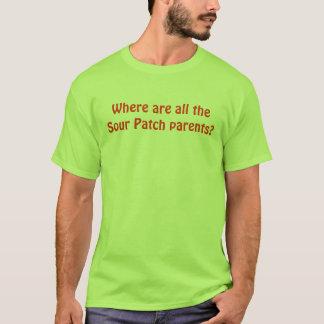 Camiseta Onde é todo o remendo ácido pais?