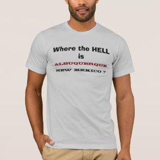 Camiseta Onde está, ALBUQUERQUE, NEW MEXICO?