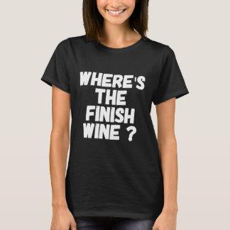 Camiseta Onde está o vinho do revestimento