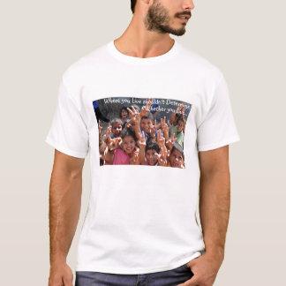 Camiseta Onde você vive t-shirt