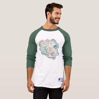 Camiseta Ondinha da lagoa