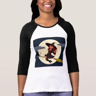 Camiseta Ondulação amigável da bruxa