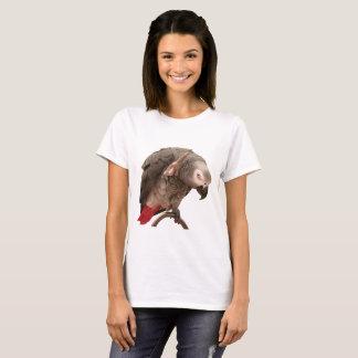 Camiseta Ondulação do papagaio de Einstein