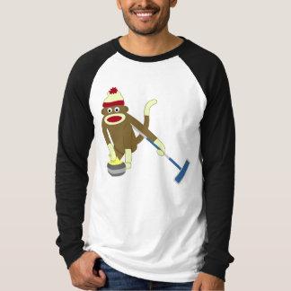 Camiseta Ondulação olímpica do macaco da peúga