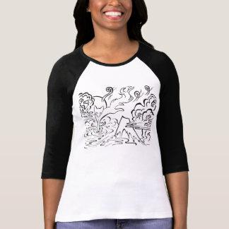 Camiseta oni do kitsune