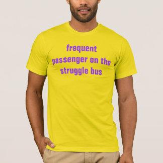 Camiseta ônibus do esforço