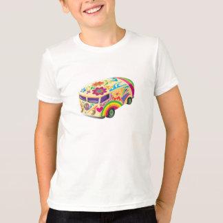 Camiseta Ônibus psicadélico do amor