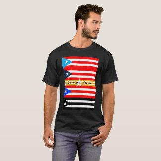 Camiseta ONU de Somos - Bandera de Puerto Rico