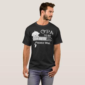 Camiseta Opa a carregar por favor espera o Tshirt