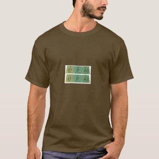 Camiseta Opal como o alumínio do fósforo do oxigênio